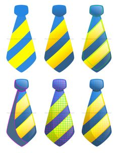How to draw cartoon ties #howtodraw #drawinglessons #ties