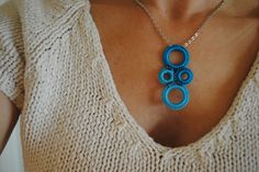 "Crochet Ring Statement Necklace Tutorial- FREE- Cre8tion Crochet"" class=""pin-it-button"" count-layout=""horizontal"">"
