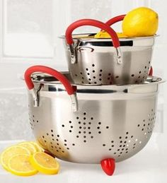 For the kitchen  Philippe Richard 2-pc. Colander Set