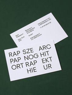 Rappaport Visitenkarten