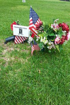 Chris Kyle grave site,  Texas State Cemetery,  Austin
