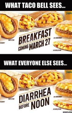 What taco bell sees vs Everyone else sees - http://www.jokideo.com/