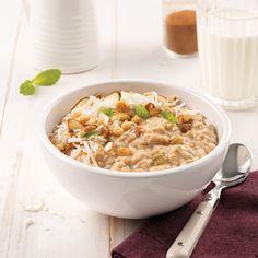 Gruau cannelle et raisins qui cuit toute la nuit - 5 ingredients 15 minutes Muesli, Raisin, Slow Cooker Recipes, Fried Rice, Coco, Risotto, Macaroni And Cheese, Crockpot, Vegetarian
