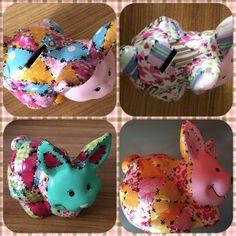 Alcancia de conejo. Gran variedad de colores y figuras