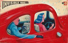 Ryan Heshka Art and Illustration :: Vancouver, BC - Portfolio - Invisible Wave