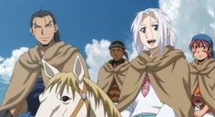 NBCU Japan Sets 'The Heroic Legend of Arslan: Dust Storm Dance' Anime DVD/BD Release Plans