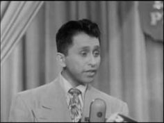 You Bet Your Life is a 50's game show hosted by Groucho Marx. This guy was on it, and he's a flippin crack up. I don't indend to infringe copyright or anythi...