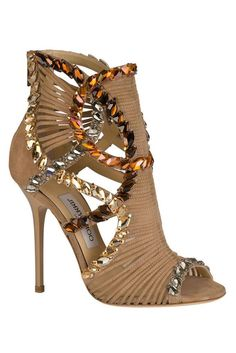 Strappy heels. Sexy sandal