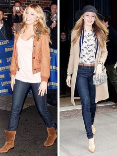 13 of the Most Striking Celebrity Style Transformations: Denim Edition via @WhoWhatWearUK