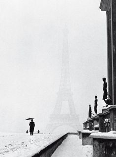 Eiffel Tower by Lee Miller
