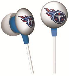 iHip NFF10200TET NFL Tennessee Titans Mini Ear Buds, Price: $5.19