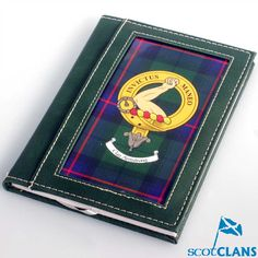 Armstrong Clan Crest Cover Notebook