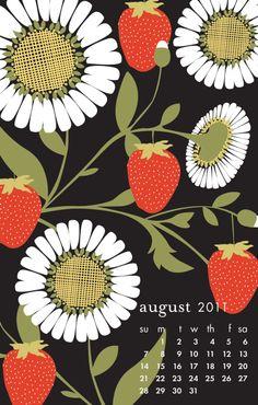 Strawberry Vines, Aug 2011