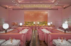 The Gallery. Gastro-Brasserie at sketch | 9 conduit street, London. India Mahdavi and David Shrigley
