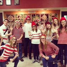 Where's Waldo(s) | 21 Clever Halloween Costumes For Lazy Groups