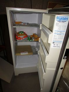 small frigidaire upright freezer in good working condition - Small Upright Freezer