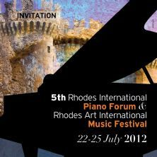 Events details for Rhodes International Piano Forum on 22 Jul 2012 to 25 Jul 2012 - Domestic Violence, Rhodes, Piano, Politics, Events, Pianos