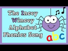 Phonics Song, Alphabet Phonics, Abc Song For Kids, Kids Songs, Abc Learning Videos, Alphabet Sounds, Abc Songs, Spider, Youtube