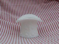 Vintage Milk Glass Top Hat, Vase, container, or figurine Fenton or Westmoreland #unknown