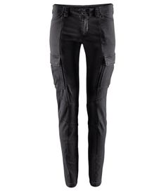 """H&M's denim pants from the """"Girl with the Dragon Tattoo"""" collection!"""