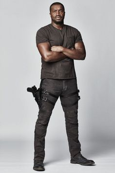 DARK MATTER -- Season:2 -- Pictured: Roger Cross as Six -- (Photo by: Norman Wong/Prodigy Pictures/Syfy)