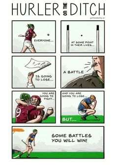 Hurler on the Ditch Funny Sports Memes, Sports Humor, Irish Memes, Anna Craft, Croke Park, Football Memes, Sport Quotes, My Favorite Image, Drawing Reference