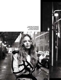 Holly May Saker por Steven Meisel para Vogue Itália Janeiro 2015 [Editorial]