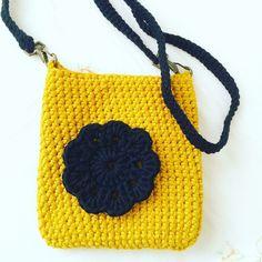 Crochet Virkkaus kesä pikkulaukku