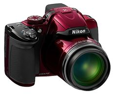 Nikon Coolpix P520 review the new camera ... in red!
