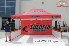 10' x 15' Heavy Duty Tent for Everflo Compression