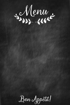 chalkboard blank menu printable bon appetit.jpg - Box