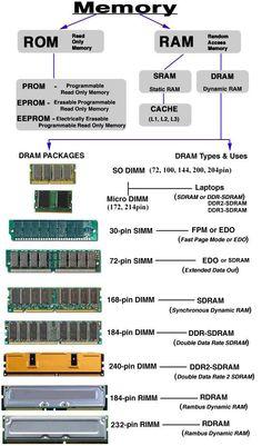 Memory explained computer memory explained html webdeveloper coding programming beginner Computer Lessons, Computer Basics, Computer Coding, Computer Build, Computer Programming, Ram Computer, Python Programming, Technology Hacks, Computer Technology