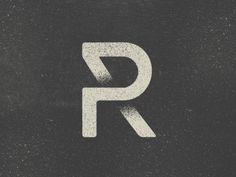 Simple yet clever logo design for PR.