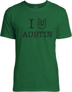 Big Texas I Rock Austin Fine Jersey T-Shirt