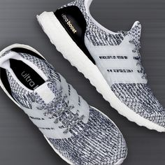 08987acee9fa Clean style and supreme comfort  grab the black   white adidas Ultra Boost  — available