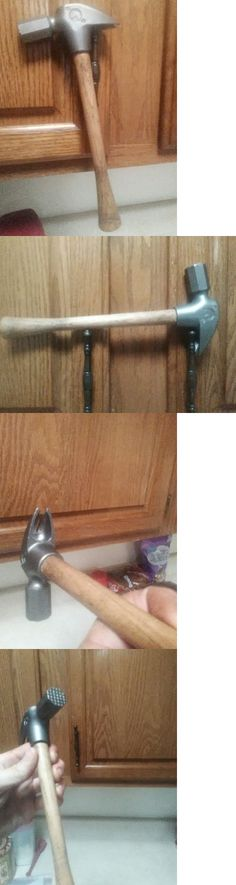 Hoof Rasps and Farrier Tools 183404: 12 Oz Horsehead Horseshoe Driving Hammer -> BUY IT NOW ONLY: $129.99 on eBay!