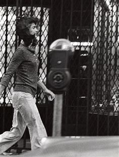 Jackie Kennedy Onassis during Jackie Onassis Sighting at Madison Avenue in New York City - October 7, 1971 at Madison Avenue in New York City, New York, United States.