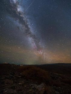 Milky Way Galaxy from LAS CAMPANAS OBSERVATORY in Chile last week