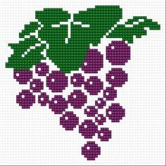 Grape (plant, fruit, bunch, leaf, food, kitchen)