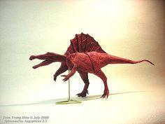 Origami. Papel y animales de ADAM TRAN http://www.colectivobicicleta.com/2012/01/origami-de-adam-tran.html#