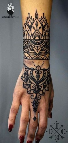 #henna #tattoo #great design #love it