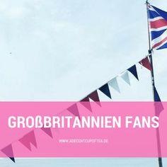 Alles, was Großbritannien Fans lieben. Englische Produkte, britische Kuriositäten, englische  Serien, bits and bobs.