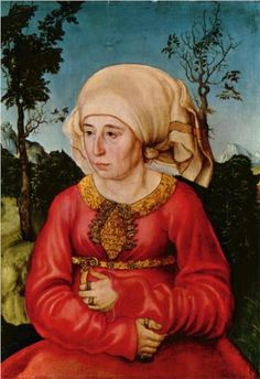 Wife of Dr. Johann Stephan Reuss - Lucas Cranach the Elder
