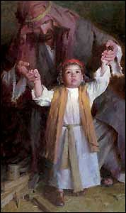 'Walking with God' by Morgan Weistling