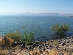 Sea of Galilee - such a peaceful place. I can see how He loved it.