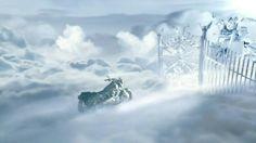 Motorcycle Riding in Heaven | Progressive TV Spot, 'Motorcycle Heaven' - Screenshot 8