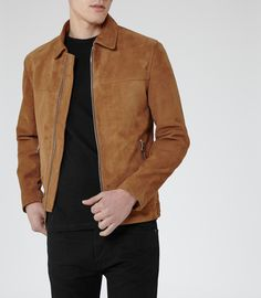 49aadee9a22 Mens Fashion Clothing - View The Best Popular Fashion Lines. Jacket  StyleMens Suede ...