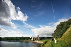 Edinburgh Wedding Venue | Inchcolm Abbey on Inchcolm Island in the Firth of Forth, Edinburgh.  An epic day organised by an epic couple! If you chose to get married here an adventure is guaranteed!