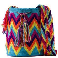 Galería: Mochilas Wayúu Colombianas | CTejidas [Crochet y Dos Agujas]
