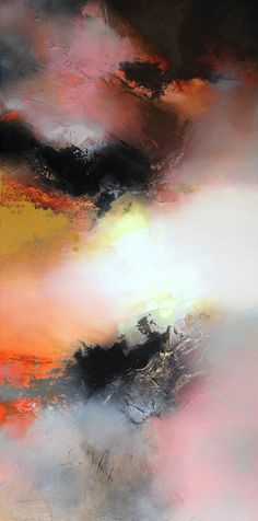"Artist: Eelco Maan; Acrylic 2013 Painting ""Breathe (Sold)"""